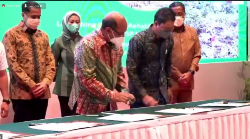 MEDCO E&P Rehabilitasi Daerah Aliran Sungai di Sumsel dan Kalteng